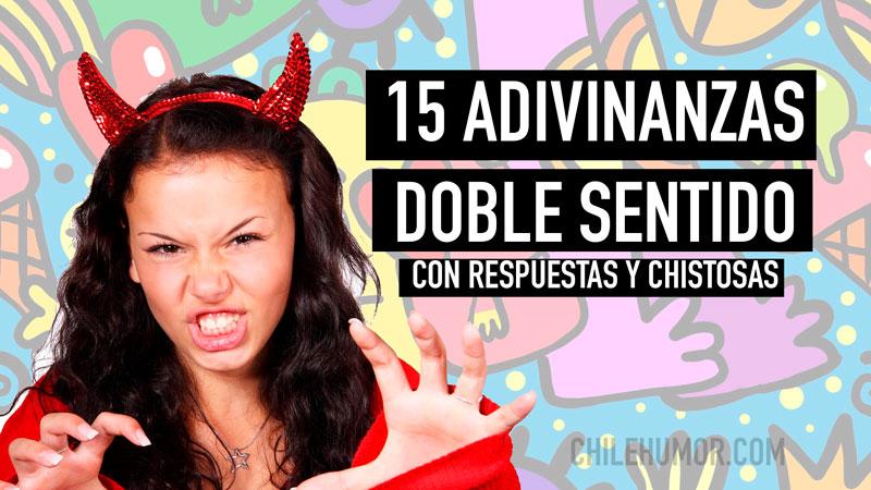 15 Adivinanzas Doble Sentido Muy Chistosas Y Divertidas